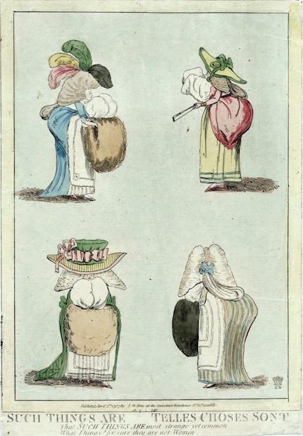 Galerie de portraits : Le manchon au XVIIIe siècle  Such-t11