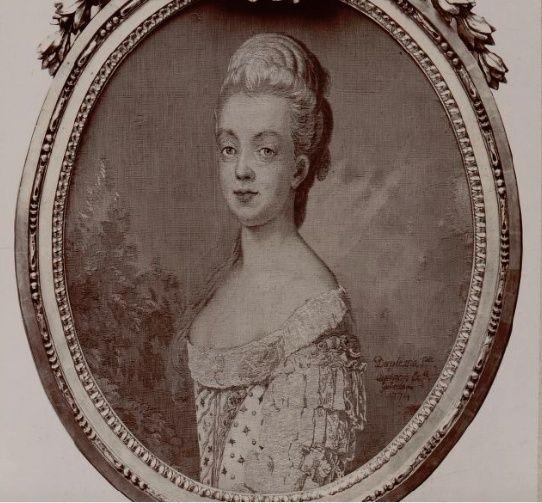 Portraits de Marie-Antoinette par Joseph-Siffred Duplessis Tapiss10