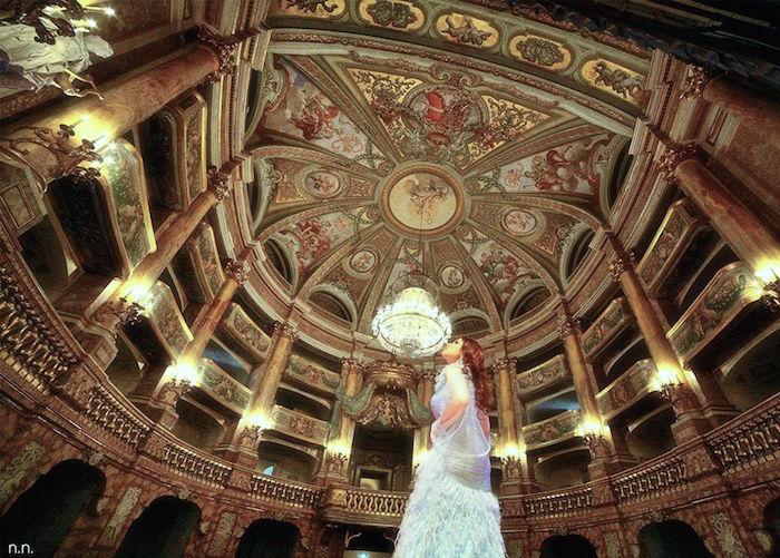 Marie-Caroline à Naples : le Palais Royal de Caserte Teatro13