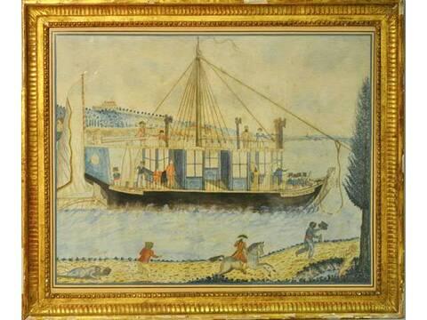 La Sirène : le bateau ou yacht royal de Marie-Antoinette