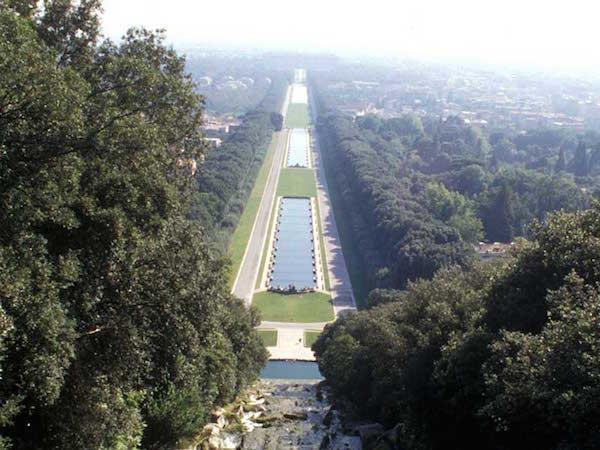 Marie-Caroline à Naples : le Palais Royal de Caserte Veduta10