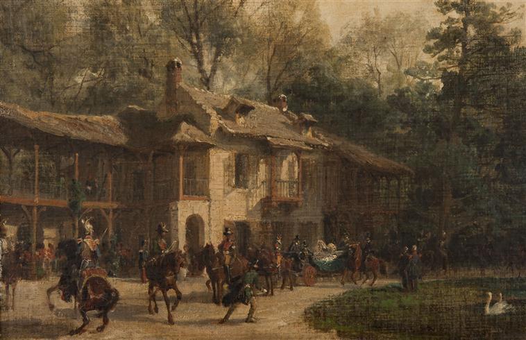 maison - Hameau du Petit Trianon : Restauration de la maison de la Reine  - Page 5 Victor11