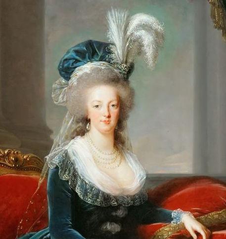 Portraits de Marie-Antoinette au livre, en robe bleue, par Vigée Le Brun (1785 - 1788 ?) - Page 2 Vigee_18