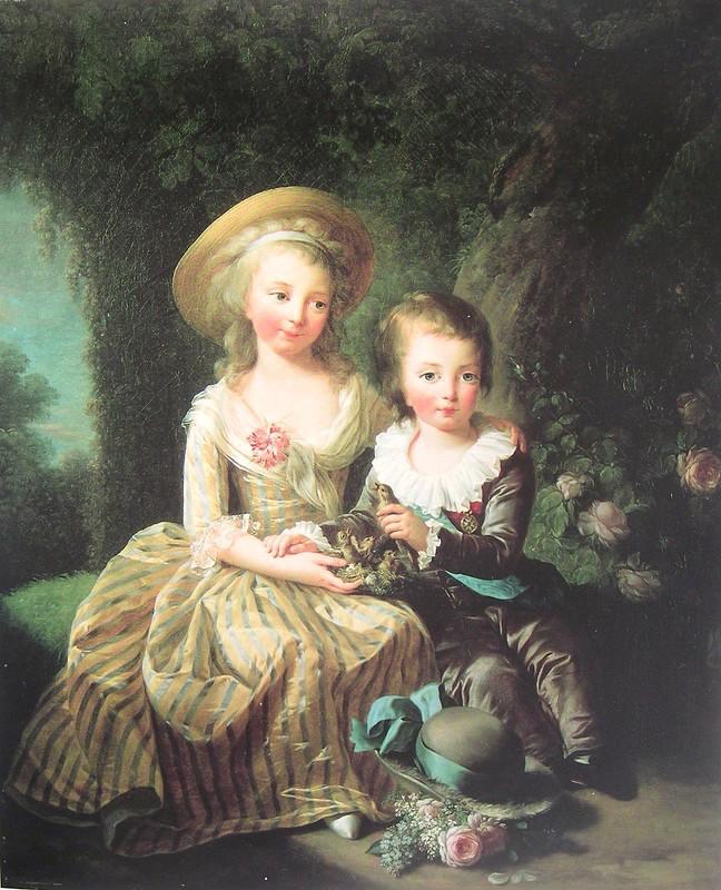 Portraits de Madame Royale et de Louis-Joseph par E. Vigée Le Brun (1784 et 1789) Vigye_12