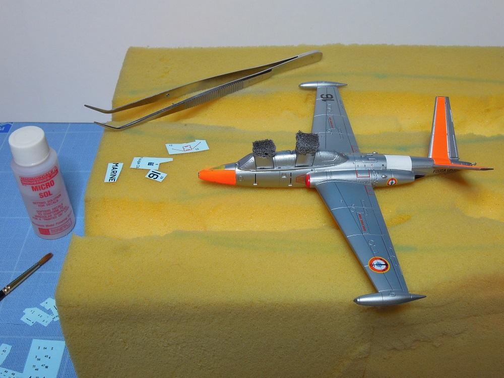 Fouga CM-175 Zéphyr-Spécial Hobby-1/72° (terminé) - Page 5 Dscn8612