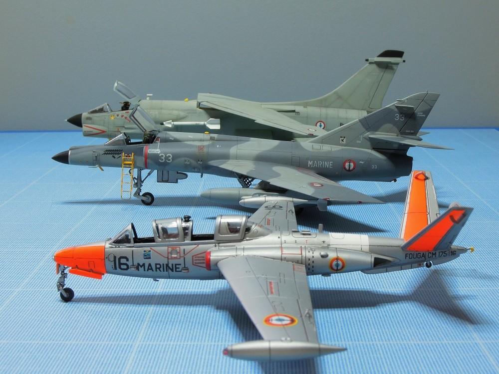 Fouga CM-175 Zéphyr-Spécial Hobby-1/72° (terminé) - Page 6 Dscn9211