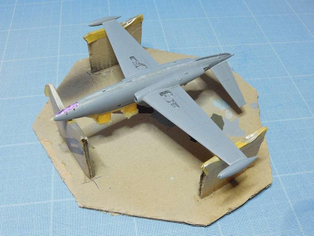 Fouga CM-175 Zéphyr-Spécial Hobby-1/72° (terminé) - Page 4 Dscn9918