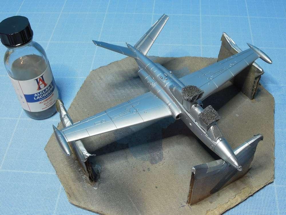 Fouga CM-175 Zéphyr-Spécial Hobby-1/72° (terminé) - Page 4 Dscn9923