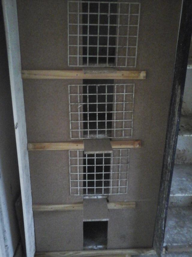renovation de mes cases d'elevage 20151216
