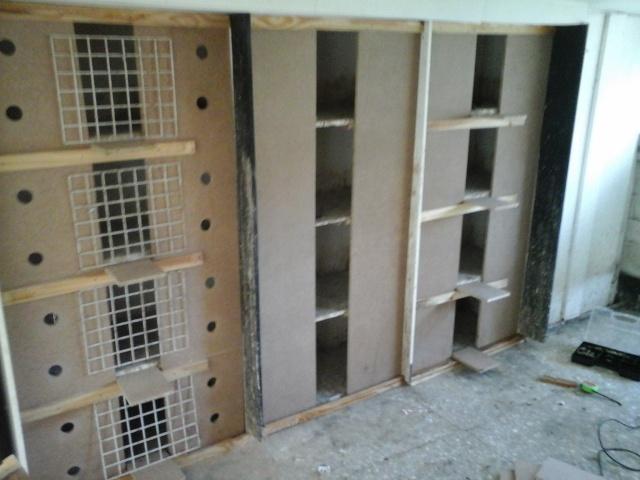 renovation de mes cases d'elevage 20151218