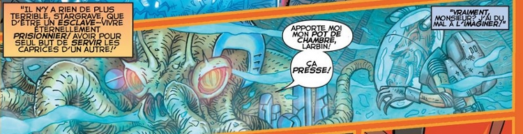 The Book of Larfleeze [par STARGRAVE, P. Plon. Okaara, 2020, 1p.] Lf310