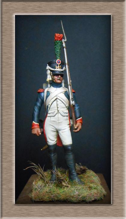 Grenadier 15e régiment Infanterie de la ligne Espagne 1807 MM 54m (modifications)  7415710