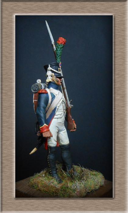 Grenadier 15e régiment Infanterie de la ligne Espagne 1807 MM 54m (modifications)  7416210