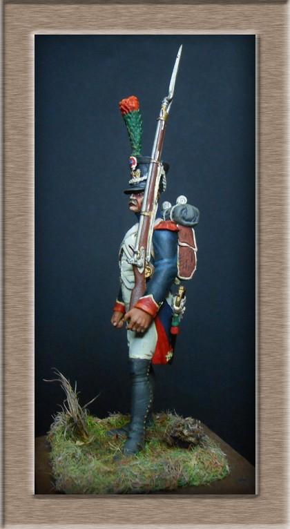 Grenadier 15e régiment Infanterie de la ligne Espagne 1807 MM 54m (modifications)  7416610