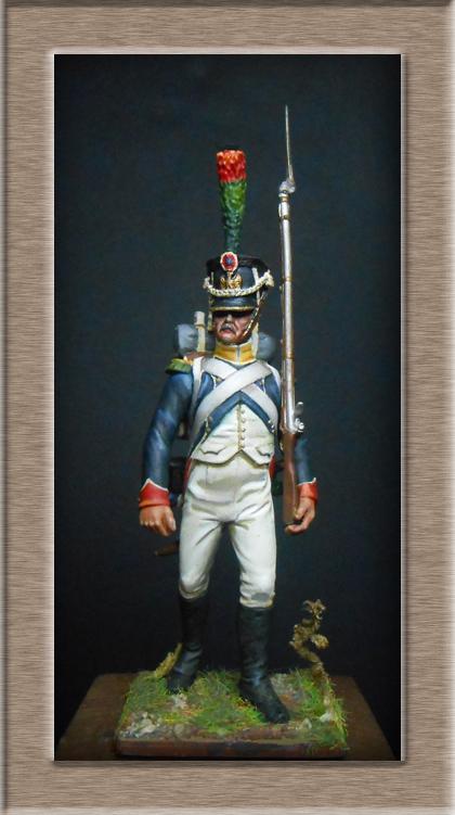 Grenadier 15e régiment Infanterie de la ligne Espagne 1807 MM 54m (modifications)  7437110