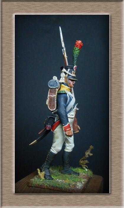 Grenadier 15e régiment Infanterie de la ligne Espagne 1807 MM 54m (modifications)  7437510
