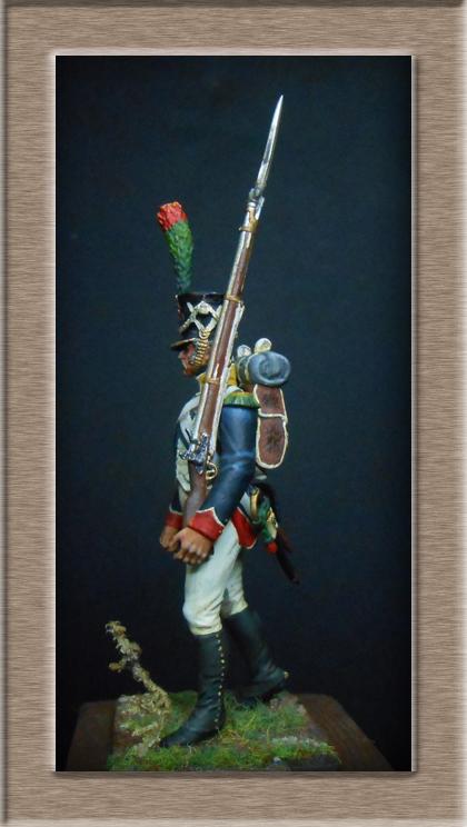 Grenadier 15e régiment Infanterie de la ligne Espagne 1807 MM 54m (modifications)  7437710