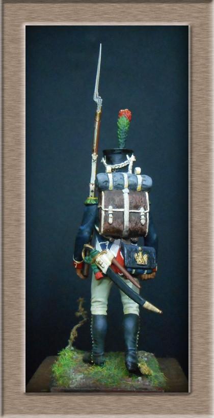 Grenadier 15e régiment Infanterie de la ligne Espagne 1807 MM 54m (modifications)  7438210