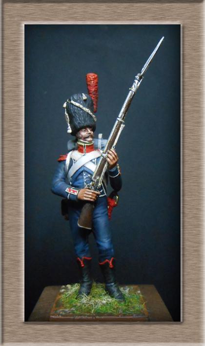 Grenadier 15e régiment Infanterie de la ligne Espagne 1807 MM 54m (modifications)  74_00910