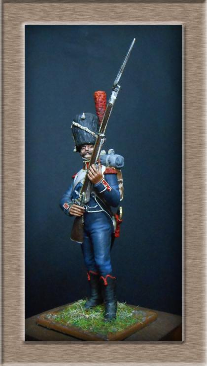 Grenadier 15e régiment Infanterie de la ligne Espagne 1807 MM 54m (modifications)  74_01010