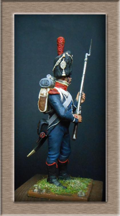 Grenadier 15e régiment Infanterie de la ligne Espagne 1807 MM 54m (modifications)  74_01810
