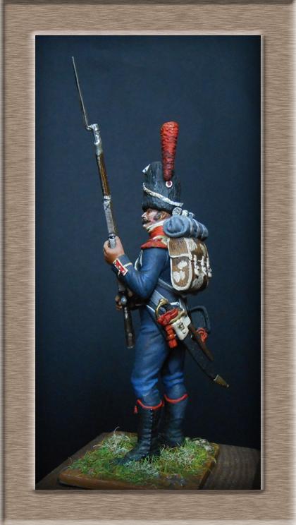 Grenadier 15e régiment Infanterie de la ligne Espagne 1807 MM 54m (modifications)  74_02010