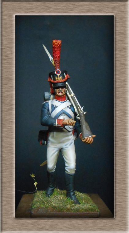 Grenadier 15e régiment Infanterie de la ligne Espagne 1807 MM 54m (modifications)  74_20710