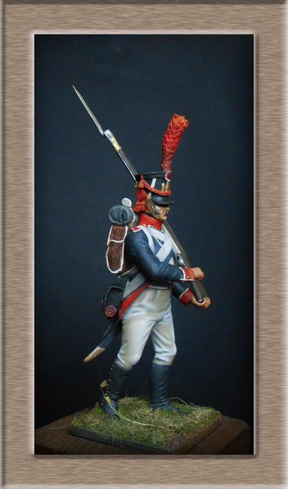 Grenadier 15e régiment Infanterie de la ligne Espagne 1807 MM 54m (modifications)  74_21210