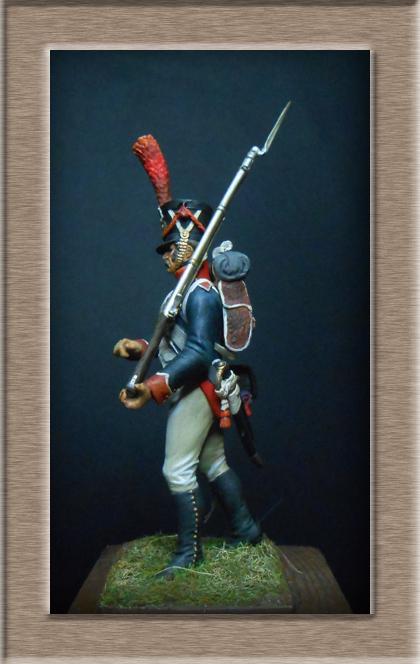 Grenadier 15e régiment Infanterie de la ligne Espagne 1807 MM 54m (modifications)  74_21910