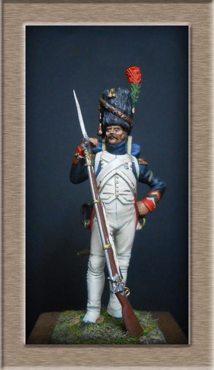 Grenadier 15e régiment Infanterie de la ligne Espagne 1807 MM 54m (modifications)  - Page 2 74_24011