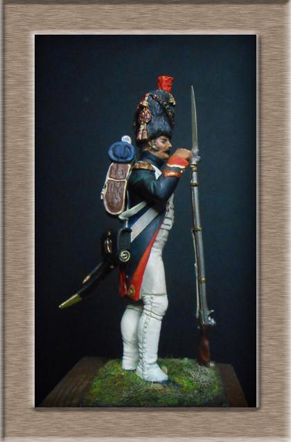 Grenadier 15e régiment Infanterie de la ligne Espagne 1807 MM 54m (modifications)  - Page 2 74_24012