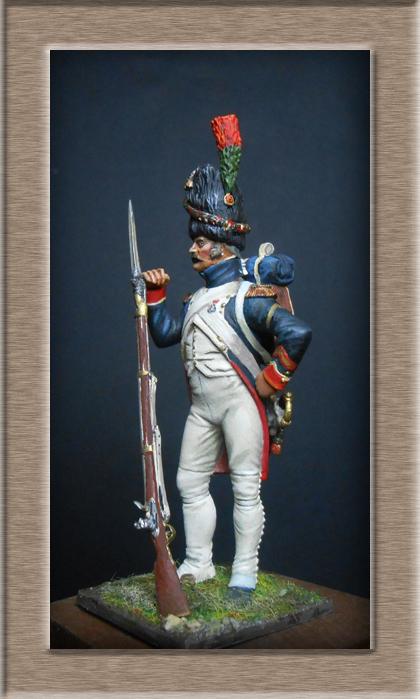 Grenadier 15e régiment Infanterie de la ligne Espagne 1807 MM 54m (modifications)  - Page 2 74_24110