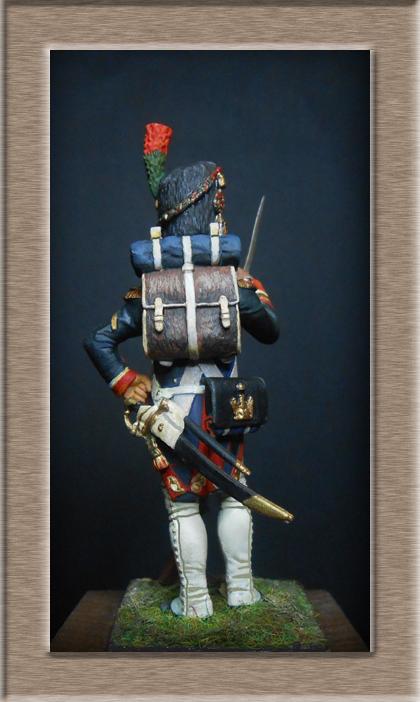 Grenadier 15e régiment Infanterie de la ligne Espagne 1807 MM 54m (modifications)  - Page 2 74_24111