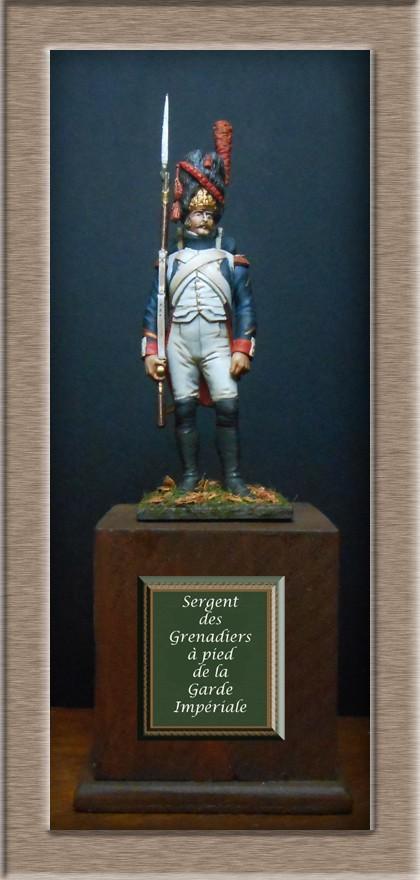 Grenadier 15e régiment Infanterie de la ligne Espagne 1807 MM 54m (modifications)  74_24610