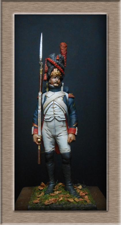 Grenadier 15e régiment Infanterie de la ligne Espagne 1807 MM 54m (modifications)  74_24611
