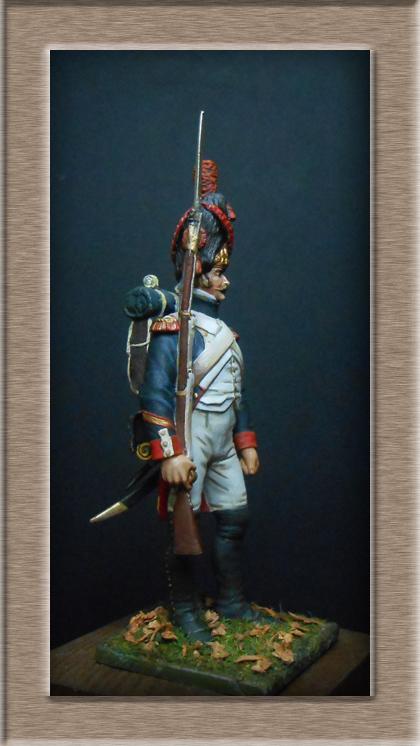 Grenadier 15e régiment Infanterie de la ligne Espagne 1807 MM 54m (modifications)  74_24710