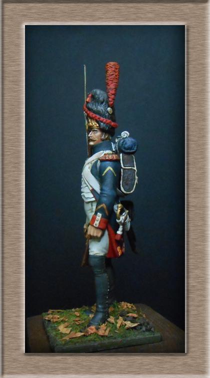 Grenadier 15e régiment Infanterie de la ligne Espagne 1807 MM 54m (modifications)  74_24711