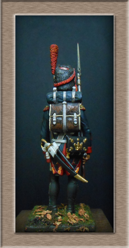 Grenadier 15e régiment Infanterie de la ligne Espagne 1807 MM 54m (modifications)  74_24712