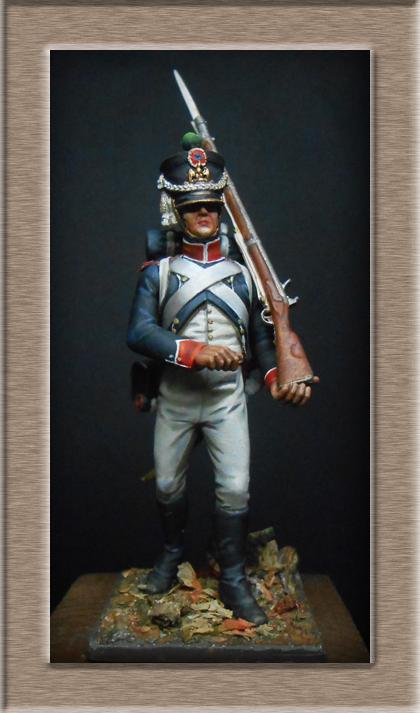 Grenadier 15e régiment Infanterie de la ligne Espagne 1807 MM 54m (modifications)  - Page 10 74_25110