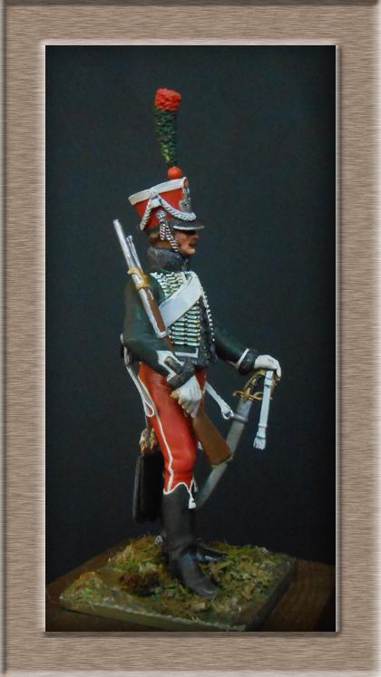 Grenadier 15e régiment Infanterie de la ligne Espagne 1807 MM 54m (modifications)  74_25311