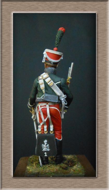 Grenadier 15e régiment Infanterie de la ligne Espagne 1807 MM 54m (modifications)  74_25411