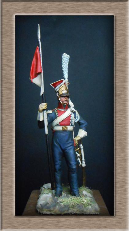 Grenadier 15e régiment Infanterie de la ligne Espagne 1807 MM 54m (modifications)  74_25712
