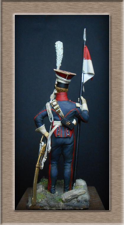 Grenadier 15e régiment Infanterie de la ligne Espagne 1807 MM 54m (modifications)  74_25810