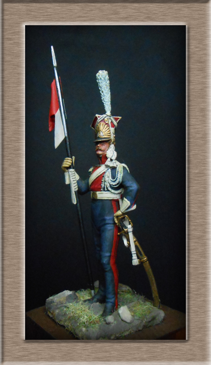 Grenadier 15e régiment Infanterie de la ligne Espagne 1807 MM 54m (modifications)  74_25911