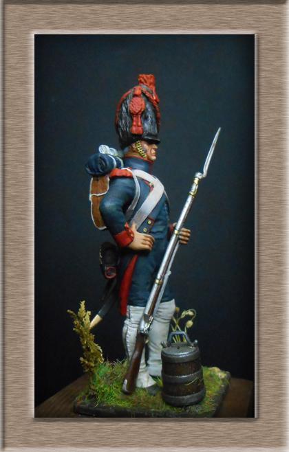 Grenadier 15e régiment Infanterie de la ligne Espagne 1807 MM 54m (modifications)  74_26110