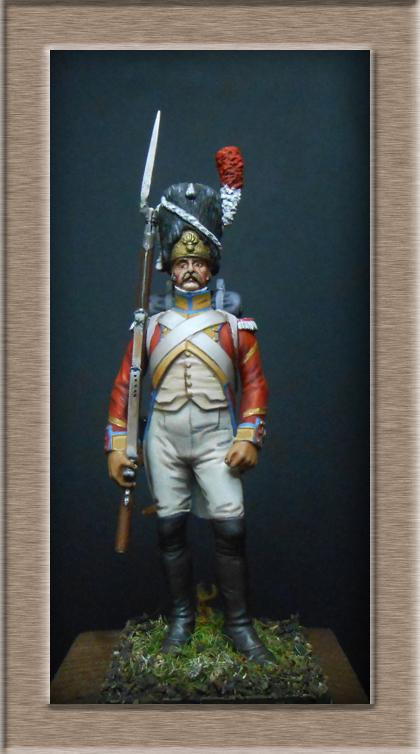 Grenadier 15e régiment Infanterie de la ligne Espagne 1807 MM 54m (modifications)  74_26712