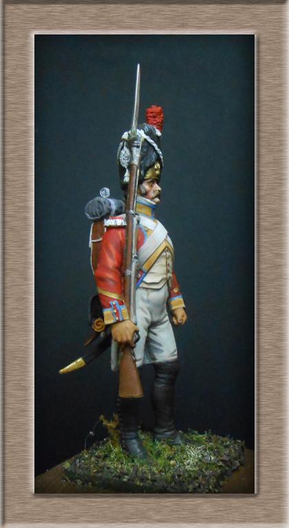 Grenadier 15e régiment Infanterie de la ligne Espagne 1807 MM 54m (modifications)  74_26713