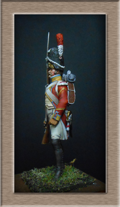 Grenadier 15e régiment Infanterie de la ligne Espagne 1807 MM 54m (modifications)  74_26813