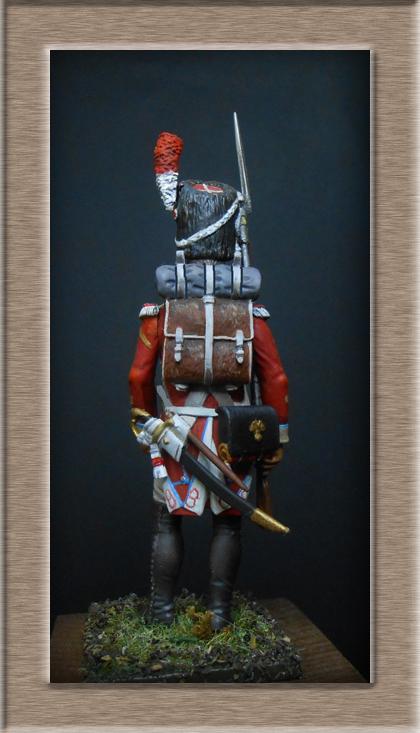 Grenadier 15e régiment Infanterie de la ligne Espagne 1807 MM 54m (modifications)  74_26814