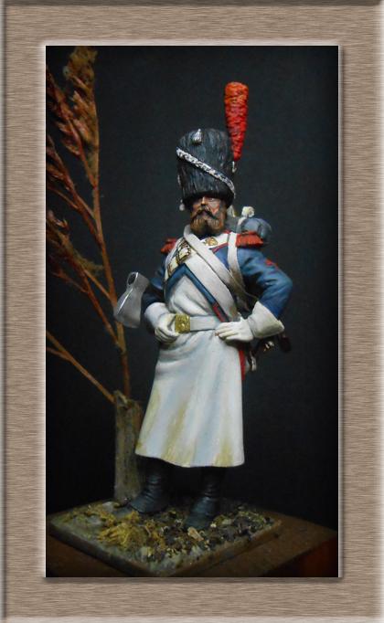 Grenadier 15e régiment Infanterie de la ligne Espagne 1807 MM 54m (modifications)  - Page 2 74_27610